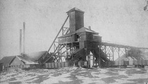 Starnes Shaft No. 1, three miles east of Springfield, Illinois
