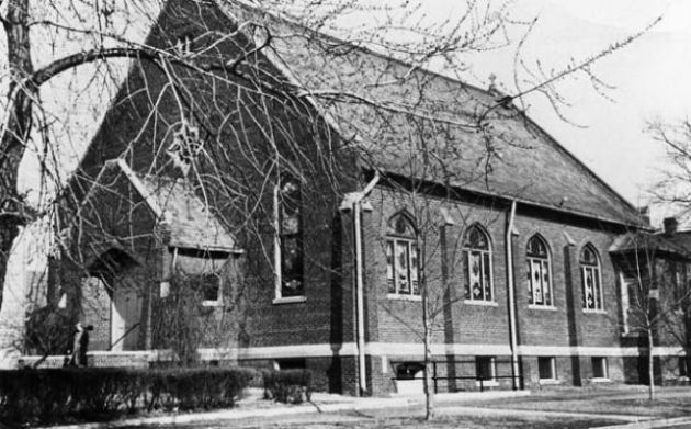 St. Vincent de Paul Lithuanian Catholic Church, Springfield, IL. Undated. Courtesy of Rick Dunham and The Illinois Times.
