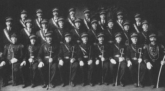 "The parish men's ""Vytautas, Grand Duke of Lithuania Society,"" 1914"