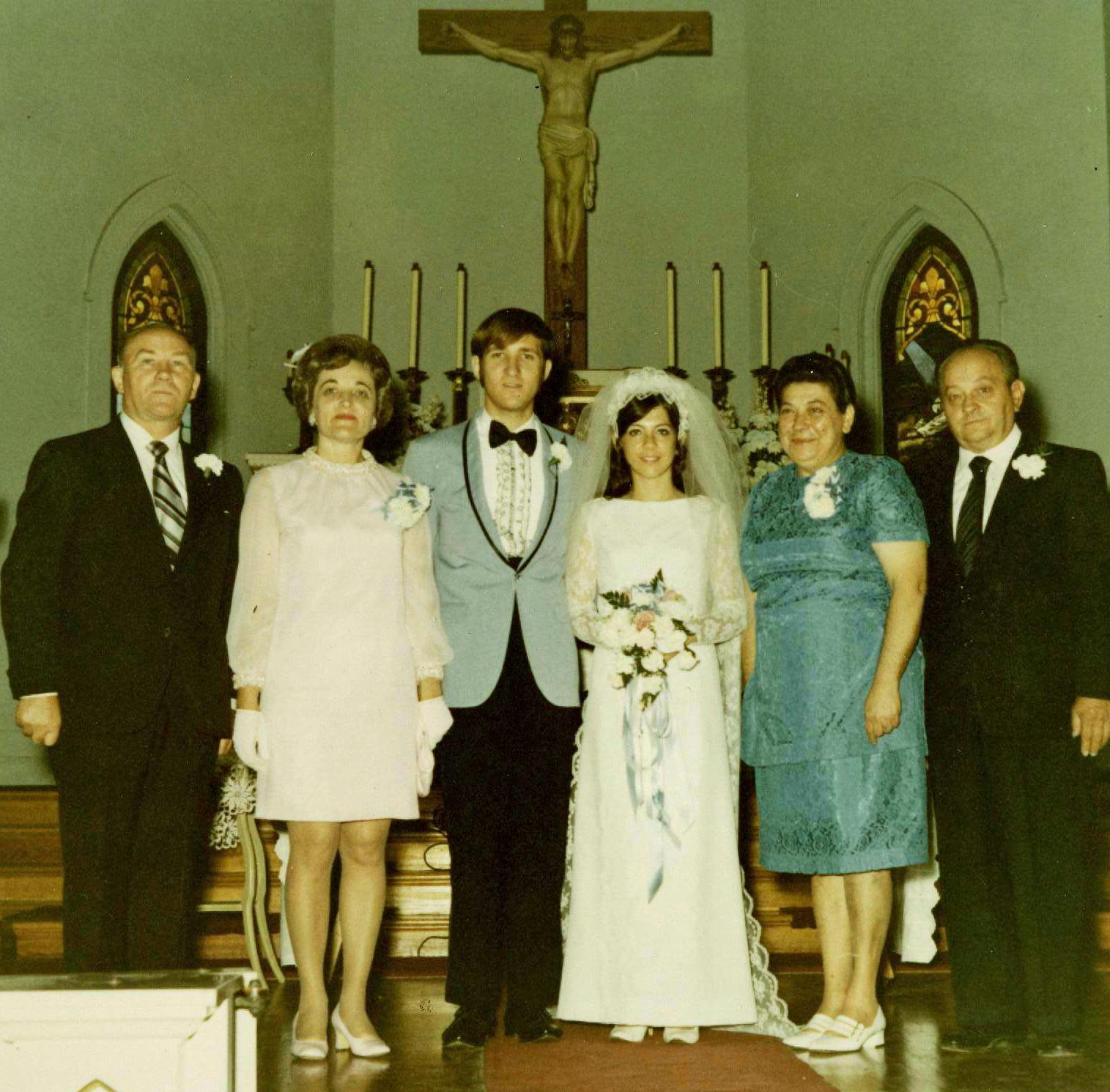 1970 Wedding St Vincent De Paul Church Lithuanians In