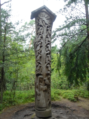 """Tree of LIfe,"" Witches Hill, Juodkrante, Lithuania"