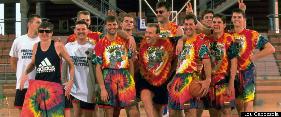 """The Other Dream Team,"" Lithuanian bronze medal basketball squad, Barcelona, 1992"