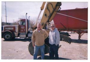 Joe and Joey Chernis, owners of Midwest Demolition of Springfield