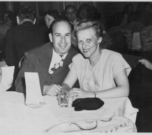 Jasper George and Anne Karvelis George, circa 1935