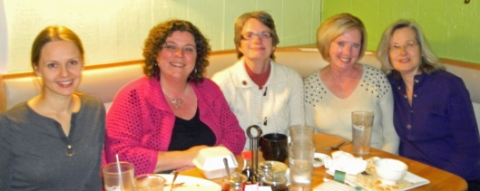 Lithuanians in Springfield: l to r: Asta, Judy, Maria, Joan, Sandy