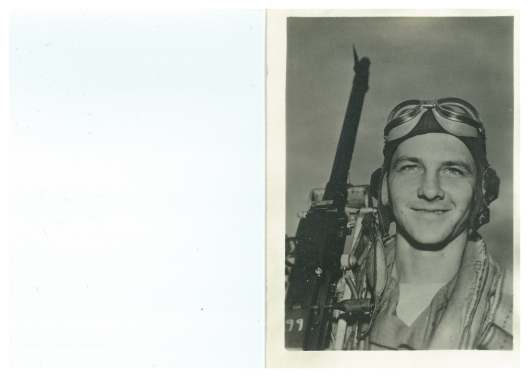 George Sneckus of Springfield after completing training to be a waist gunner. Courtesy of Teresa (Sneckus) Gregoire.