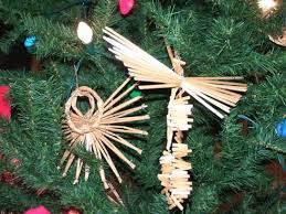 traditional straw ornaments