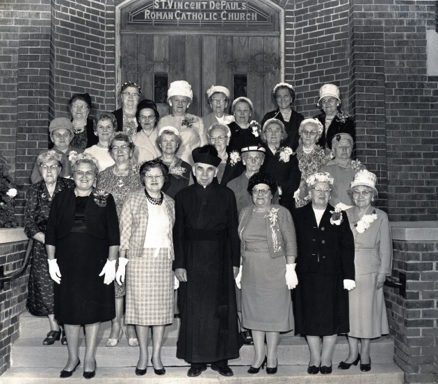 Catholic Women's Union, SVDP Chapter, 1956