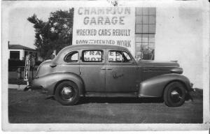 Champion Garage, 1940