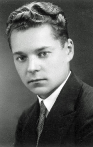 Paul Endzelis as a student