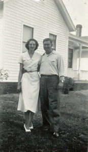 James and Loretta (Gietl) Gedman, 1950s