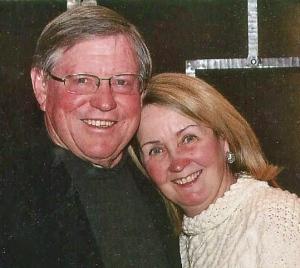Betty Gedman with husband John Wiley