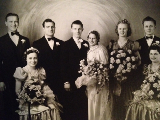 Eleanora Treinis and John P. Yuskavich, Jr. wedding, 1939