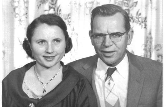 Irene and William (Bill) Blazis, 1958