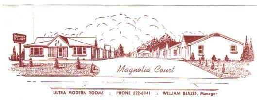 Blazis.Magnolia letterhead