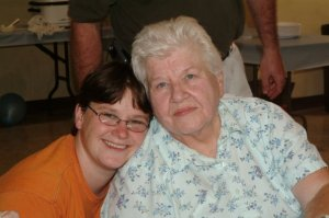Colleen and her mom JoAnn