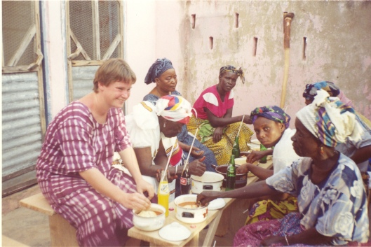 Colleen Shaughnessy in Ghana, circa 2002
