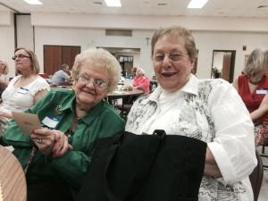 l to r:  Helen Rackauskas and Rita (Lukitis) Marley