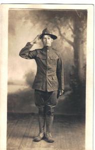 J. J. Straukas, WW I