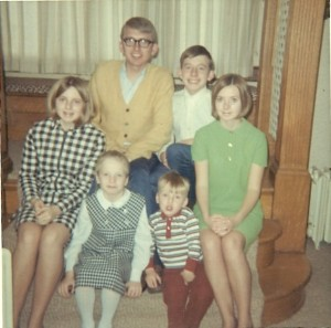 The Cooper-White children, circa 1968.