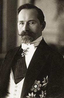 Antanas Smetona, President of Lithuania 1919-1920 and 1926-1940.