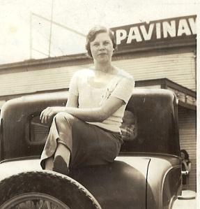 John, Jr.'s wife Clema in Oklahoma.