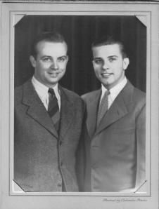 Anthony Peter and Vetout Bernotas, circa 1940