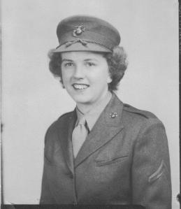 Bernice Bernotas, World War II.