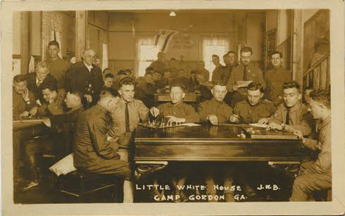 Camp Gordon, Georgia during World War I. Courtesy of flickriver.com