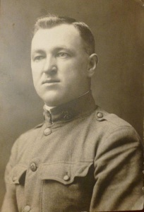 Kansteon Staikunas (Kanstantas Steikūnas), 28, born in Balninkai, Lithuania. Illinois National Guard (later the 33rd Division, U.S. Army 129th Infantry, Company C). Killed in action during the battle of Meuse-Argonne, Oct. 11, 1918., 28, Illinois National Guard, killed in the battle of Meuse-Argonne, Oct. 11, 1918.