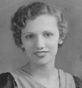 Julia Stockus (Wisnosky) at 16, 1931.