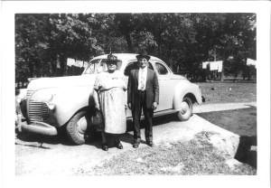 Anna and Joseph Pakutinskas, circa 1950.