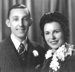 Teresa (Mullen) and Tony Witkins, circa 1940.