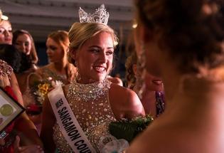 Megan Urbas, Sangamon County Fair Queen