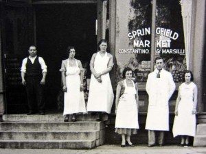 Springfield Market Constantino and Marsilli 711 E.Wash c. 1930 Sangamon Valley Collection