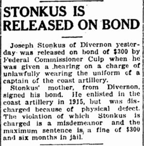 Northcott Stonkus, ISJ, Nov. 9, 1918, p. 2