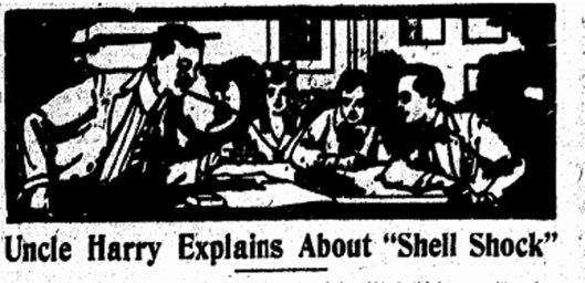 Shell Shock. ISR, March 25, 1918, p. 4