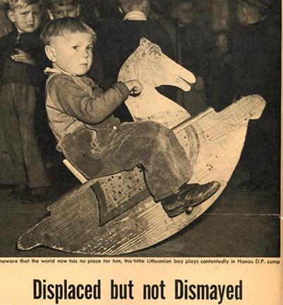 rockinghorse.Lithuanian Research and Studies Center Inc archives Hanau 1947 publication unknown